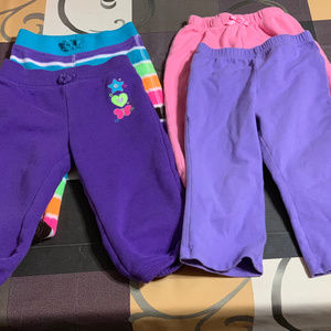LOT OF 4 PANTS 18 MONTHS MIXED BRANDS
